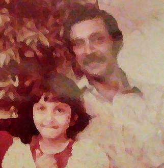 papa and i watercolour